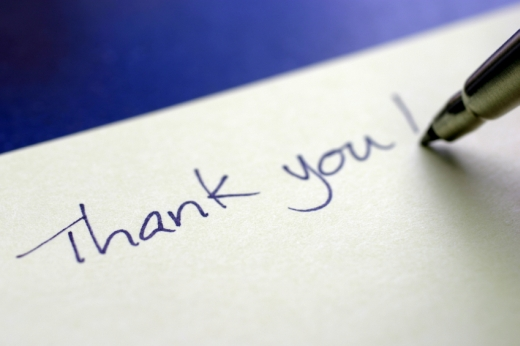 The Concert in Exall Park — A Letter of Thanks