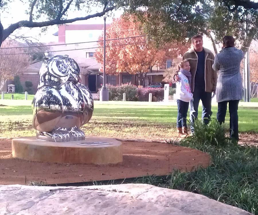 Dedication of New Public Art in Exall Park