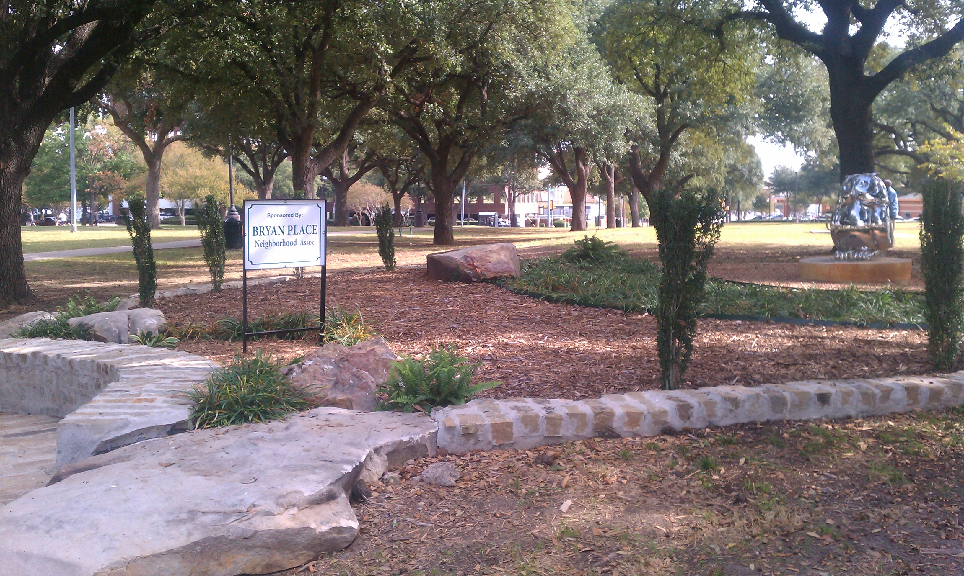New Trees In Exall Park