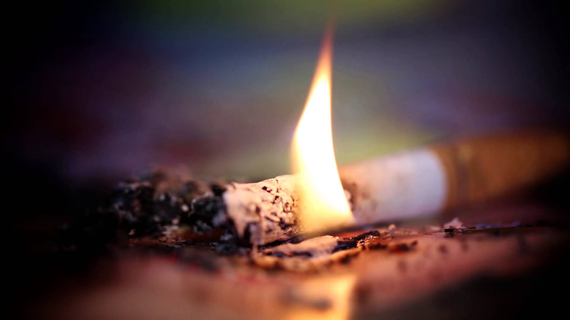Fires caused by Smoking