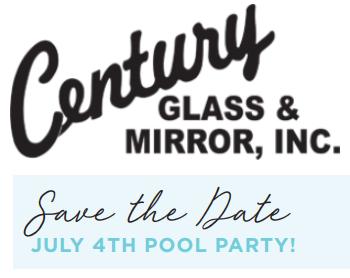 Pool News – New windows from Century Glass